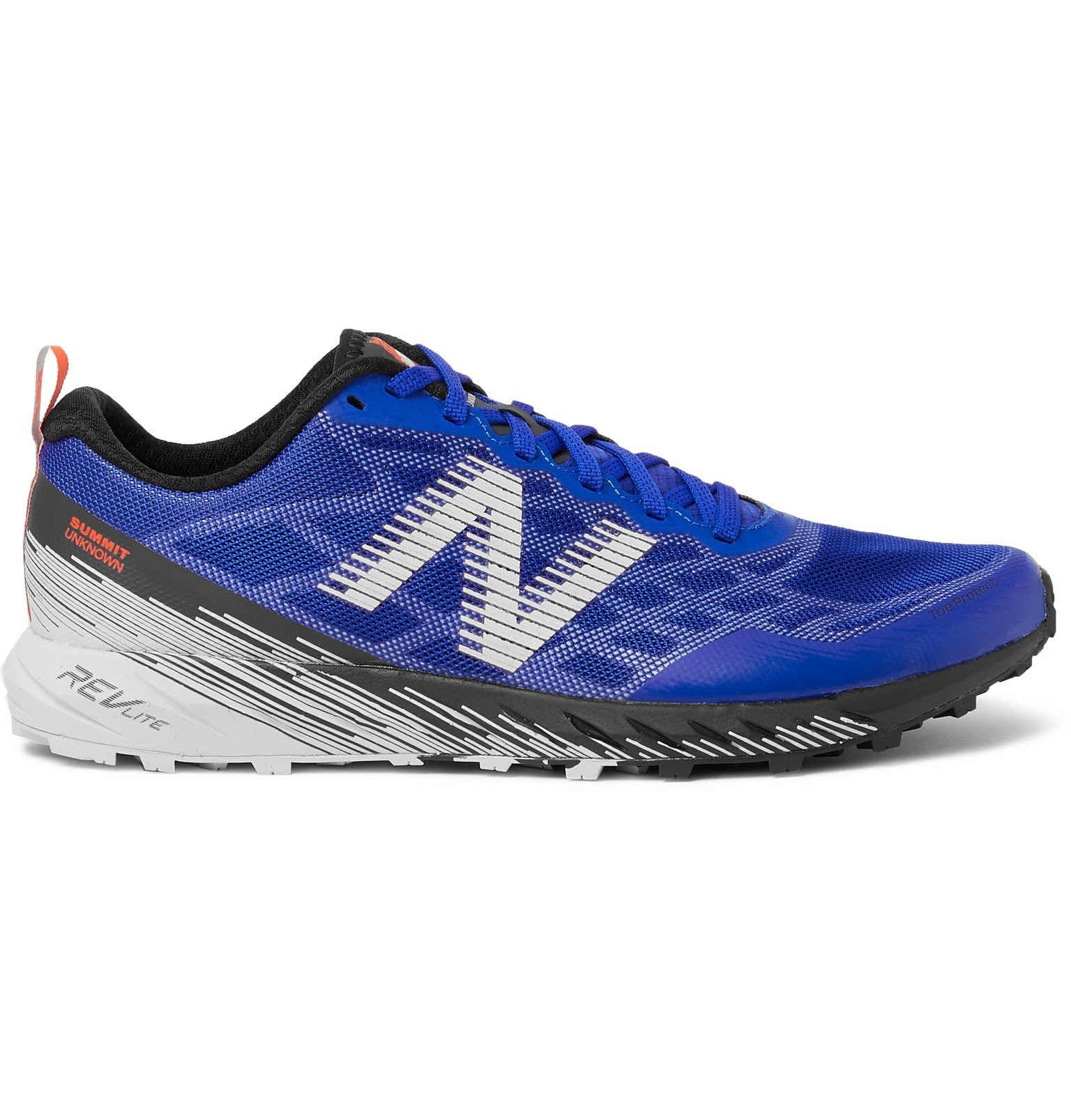 Photo: New Balance - Summit Unknown Mesh Trail Running Sneakers - Blue