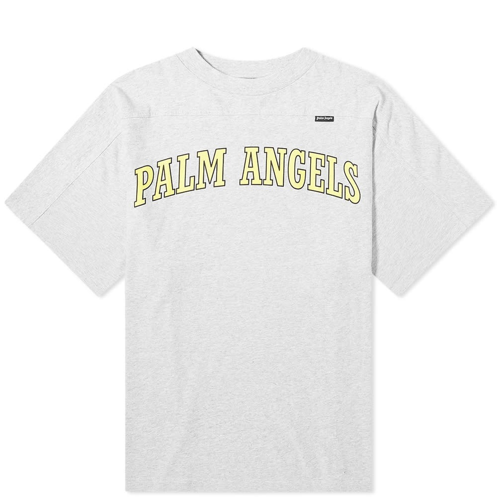 Photo: Palm Angels New College Logo Oversized Tee