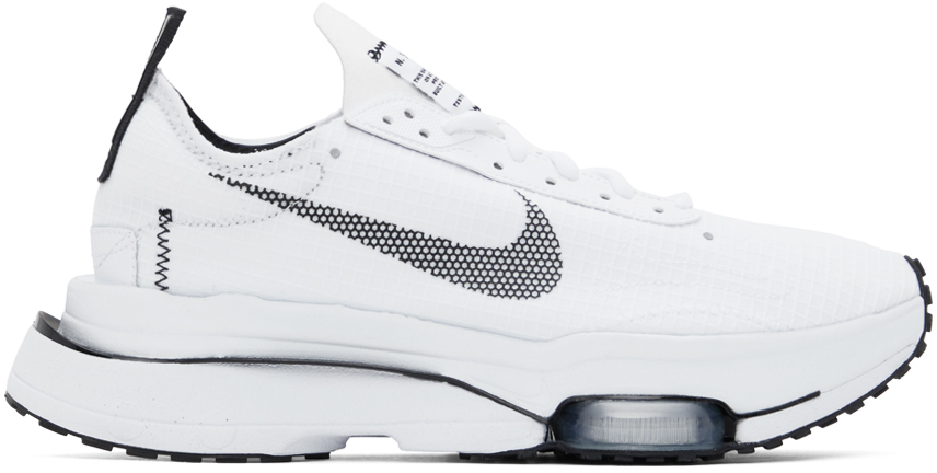 Photo: Nike White & Black Air Zoom-Type SE Sneakers