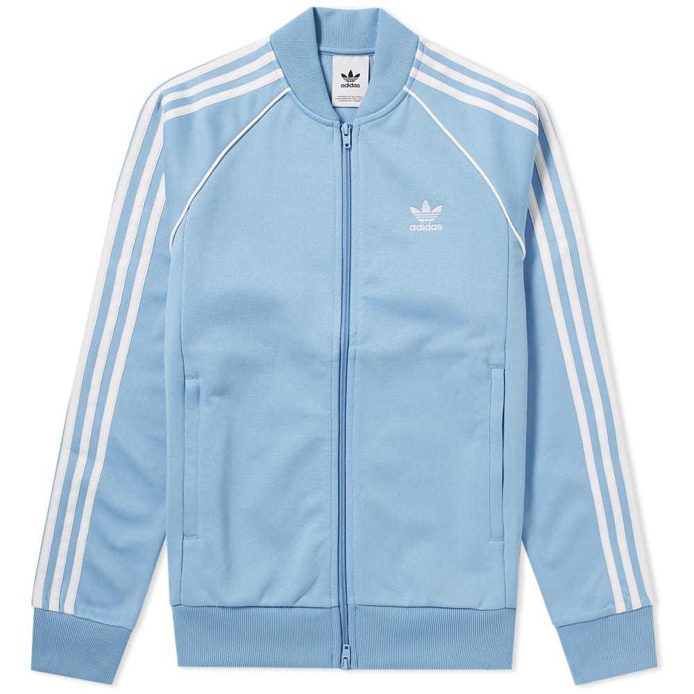 Adidas Superstar Track Top Blue