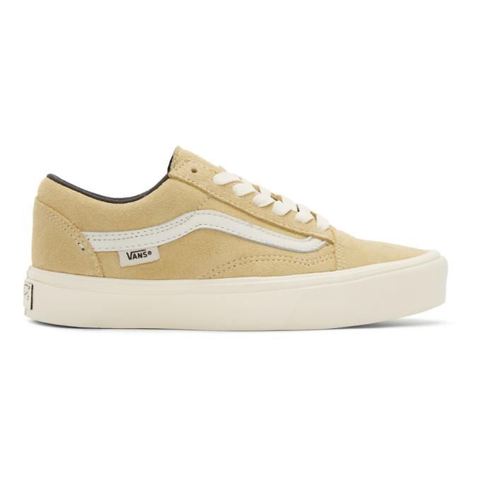 Photo: Vans Beige Old Skool Lite LX Sneakers