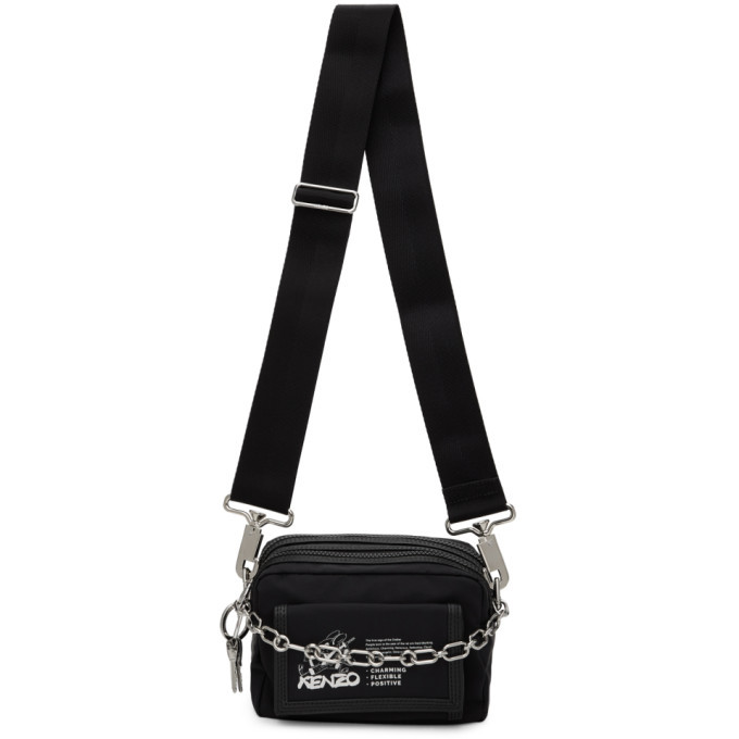 Photo: Kenzo Black Limited Edition Chinese New Year Kung Fu Rat Pouch