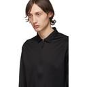 Giorgio Armani Black Zip Shirt
