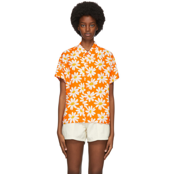 Photo: ERL Orange Daisy Shirt