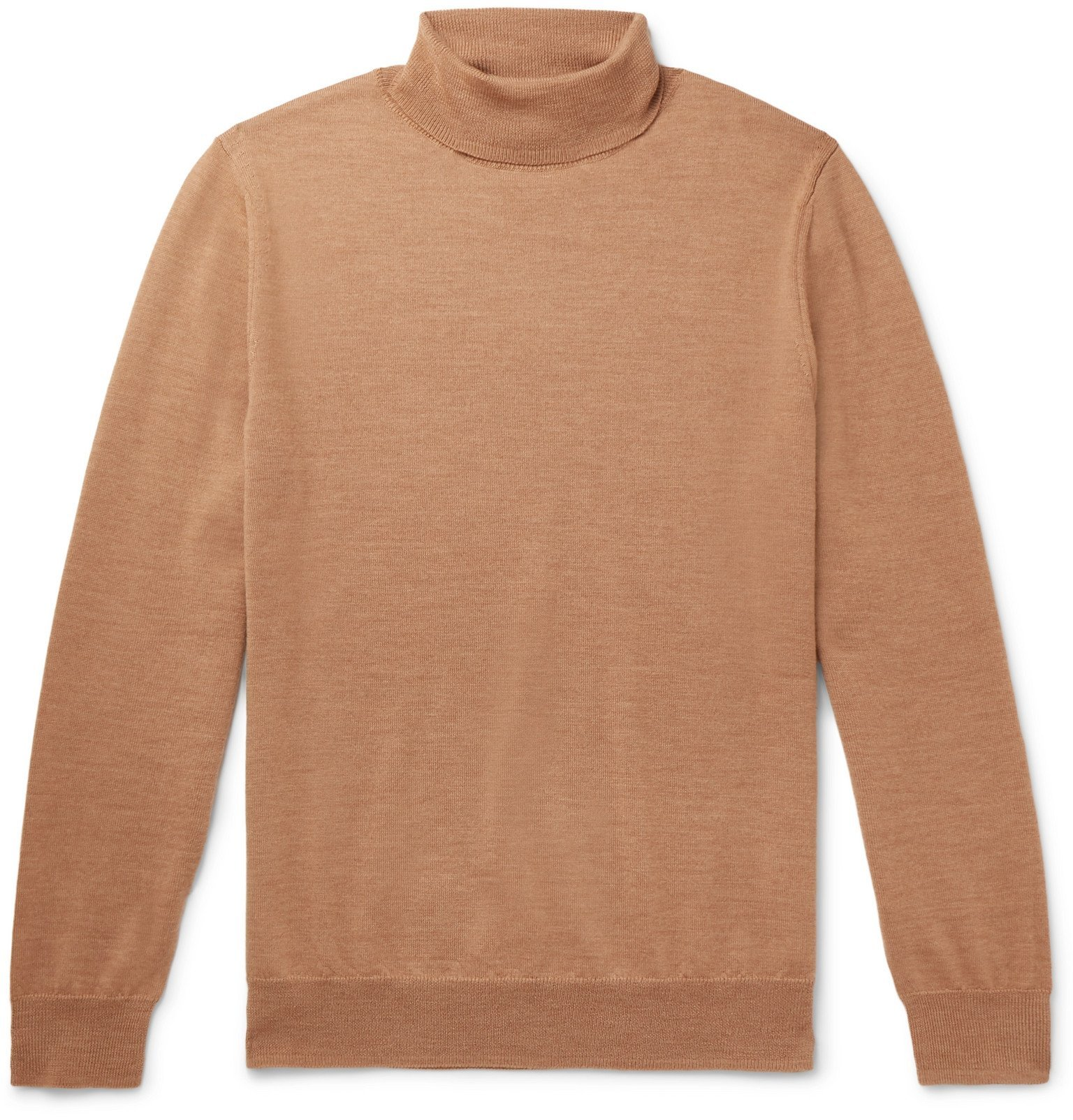 Photo: A.P.C. - Dundee Merino Wool Rollneck Sweater - Neutrals