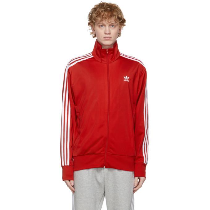 Photo: adidas Originals Red Firebird Track Jacket