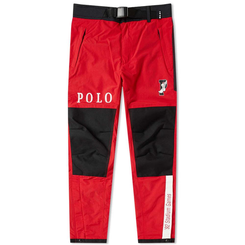 Photo: Polo Ralph Lauren Apollo Pant Injection Red & Polo Black