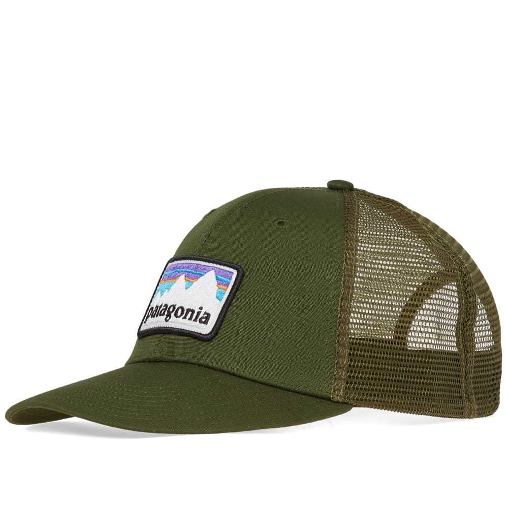 Photo: Patagonia Shop Sticker Patch Trucker Cap