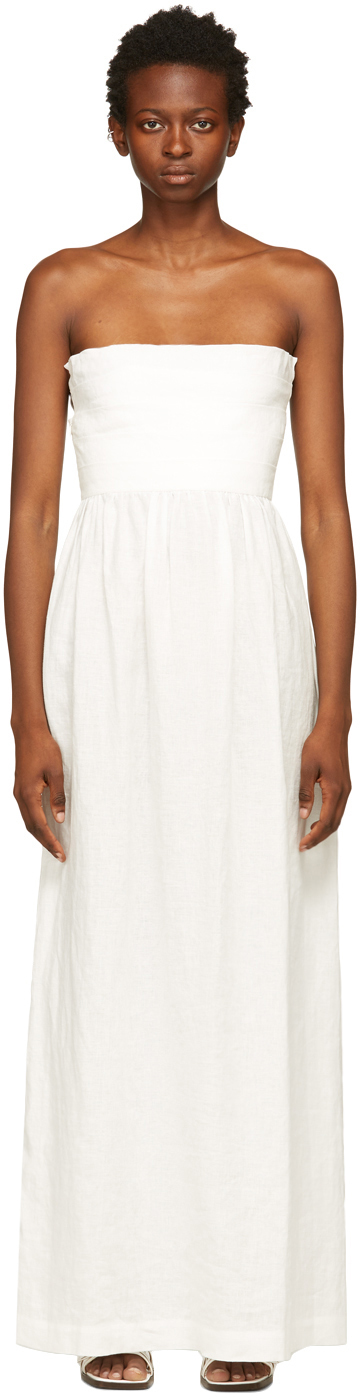 Photo: Helenamanzano White Oyster Long Dress