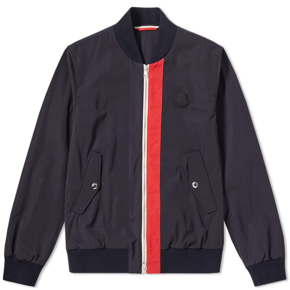 Photo: Moncler Tricolour Placket Joey Bomber Jacket