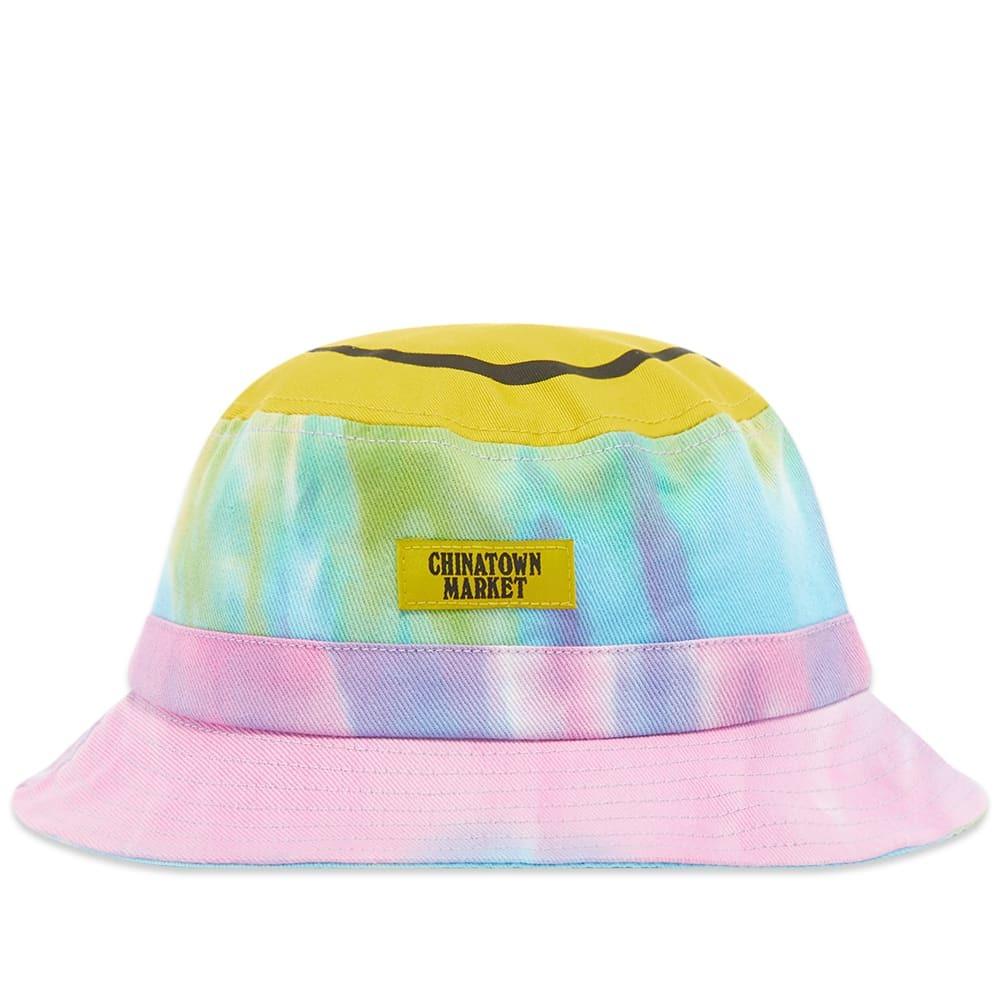 Photo: Chinatown Market Smiley Tie Dye Bucket Hat