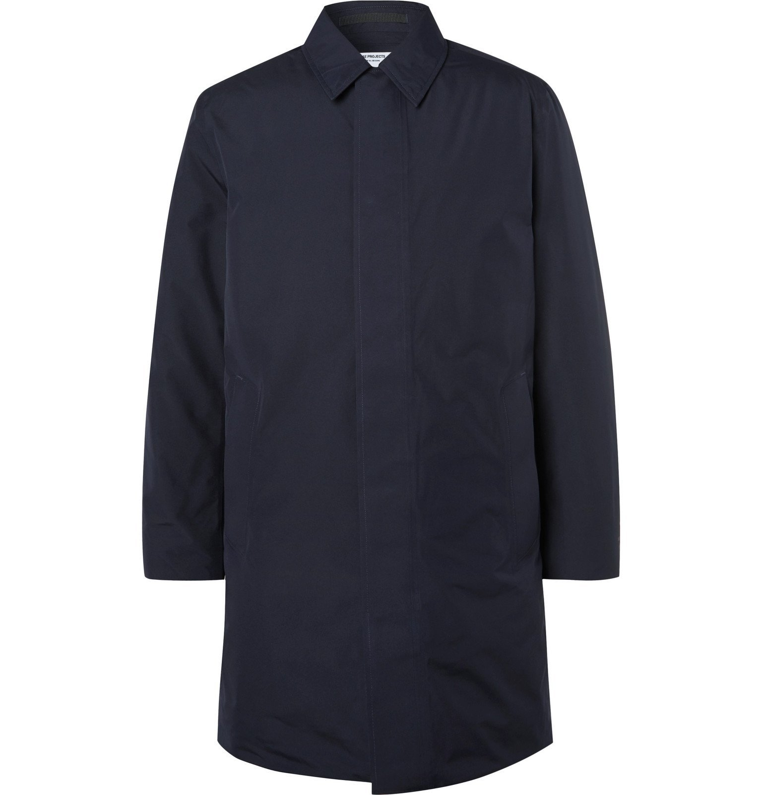Photo: Norse Projects - Thor GORE-TEX Down Coat - Blue