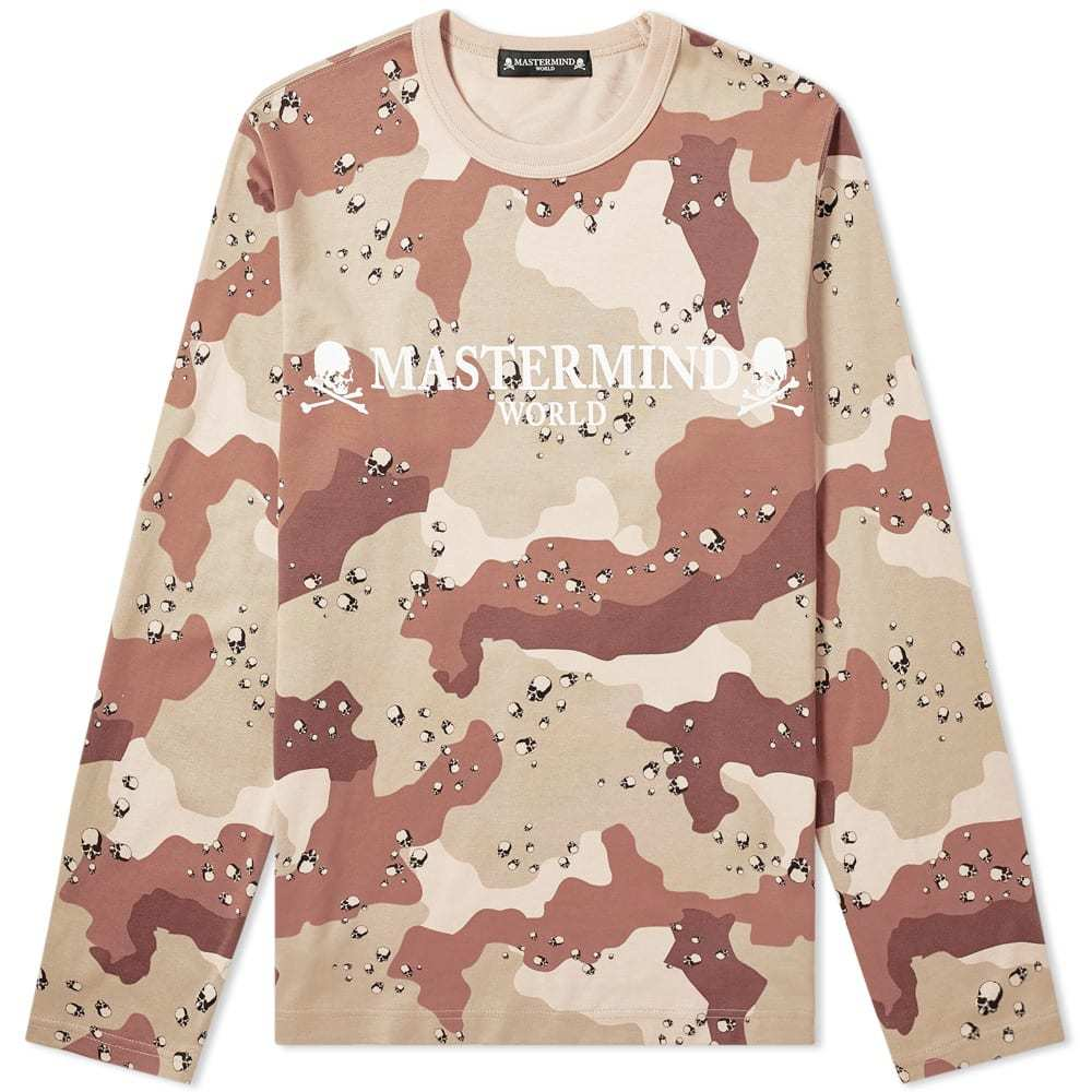 Photo: MASTERMIND WORLD Long Sleeve Logo Tee