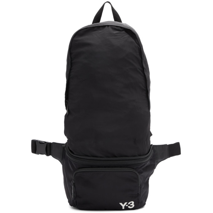 Photo: Y-3 Black Packable Backpack