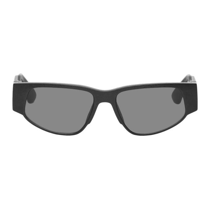 Photo: Mykita Black MD 1 Cash Sunglasses