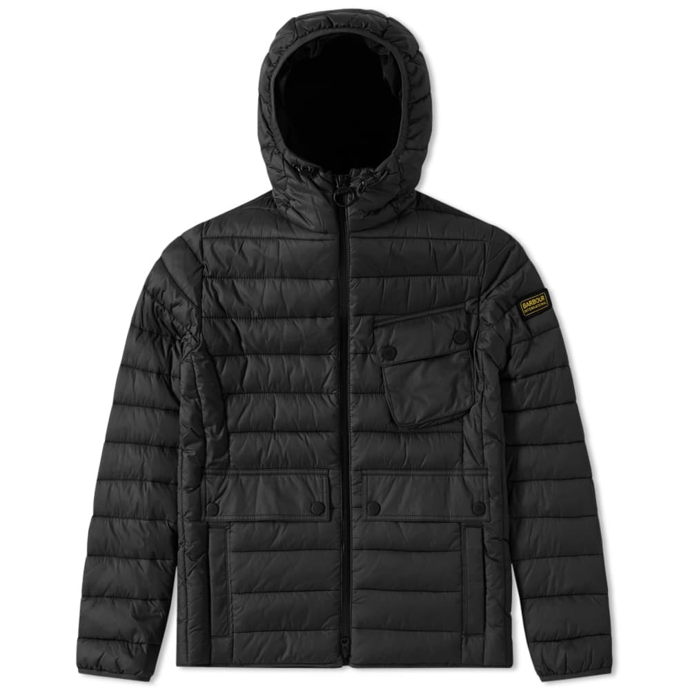 Photo: Barbour International Ouston Hooded Quilt Jacket