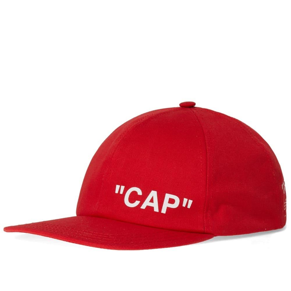 Photo: Off-White Quote Baseball Cap