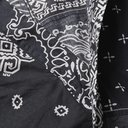 KAPITAL - Patchwork Bandana-Print Cotton-Gauze Shirt - Black