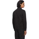 C.P. Company Black Gabardine Zipped Shirt