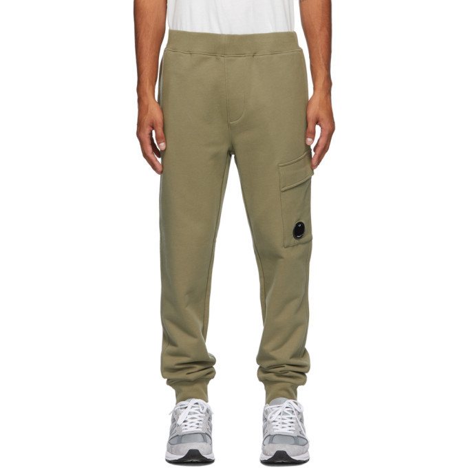 Photo: C.P. Company Green Cargo Lounge Pants