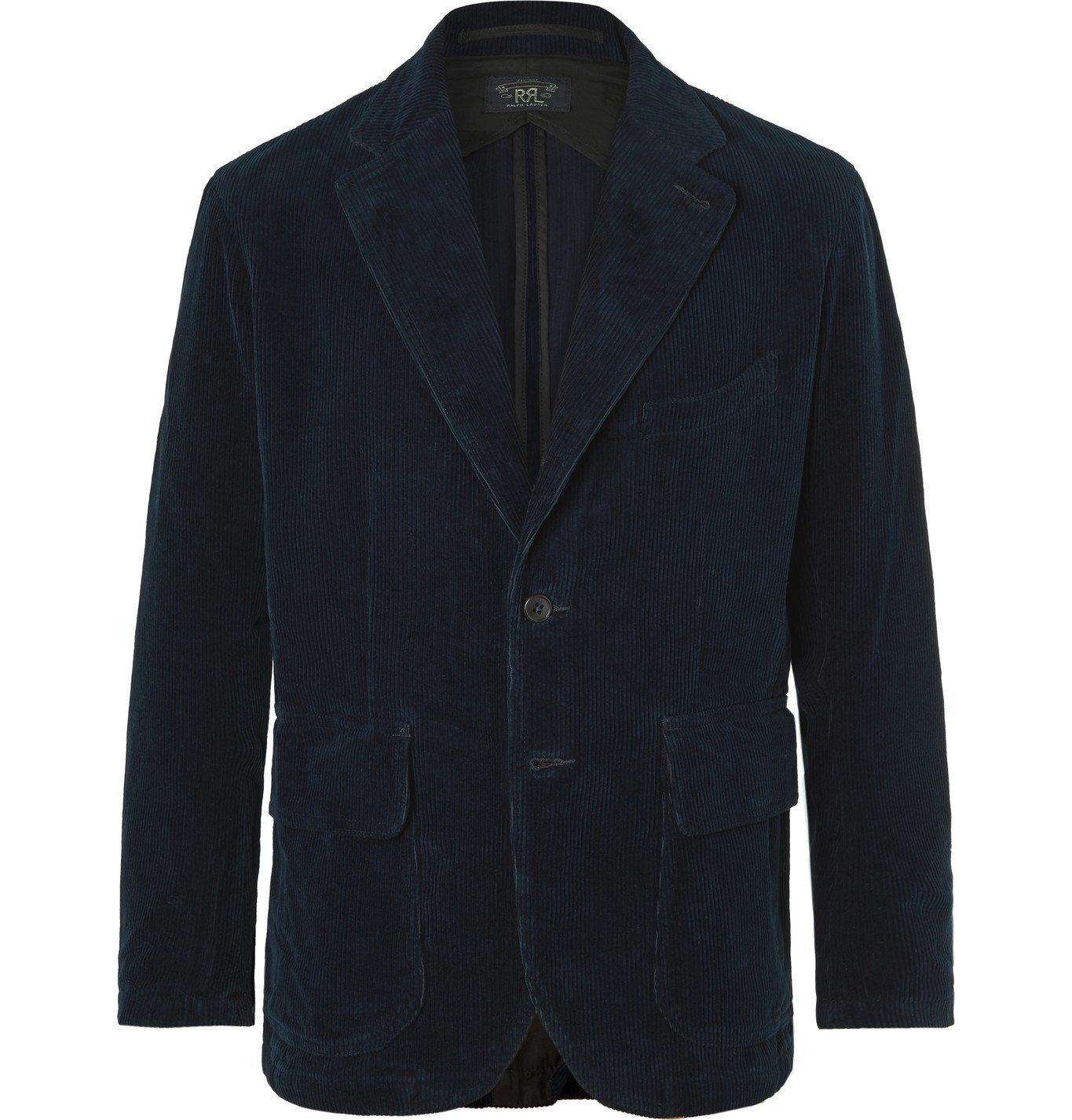 RRL - Wakelin Unstructured Cotton-Corduroy Blazer - Blue