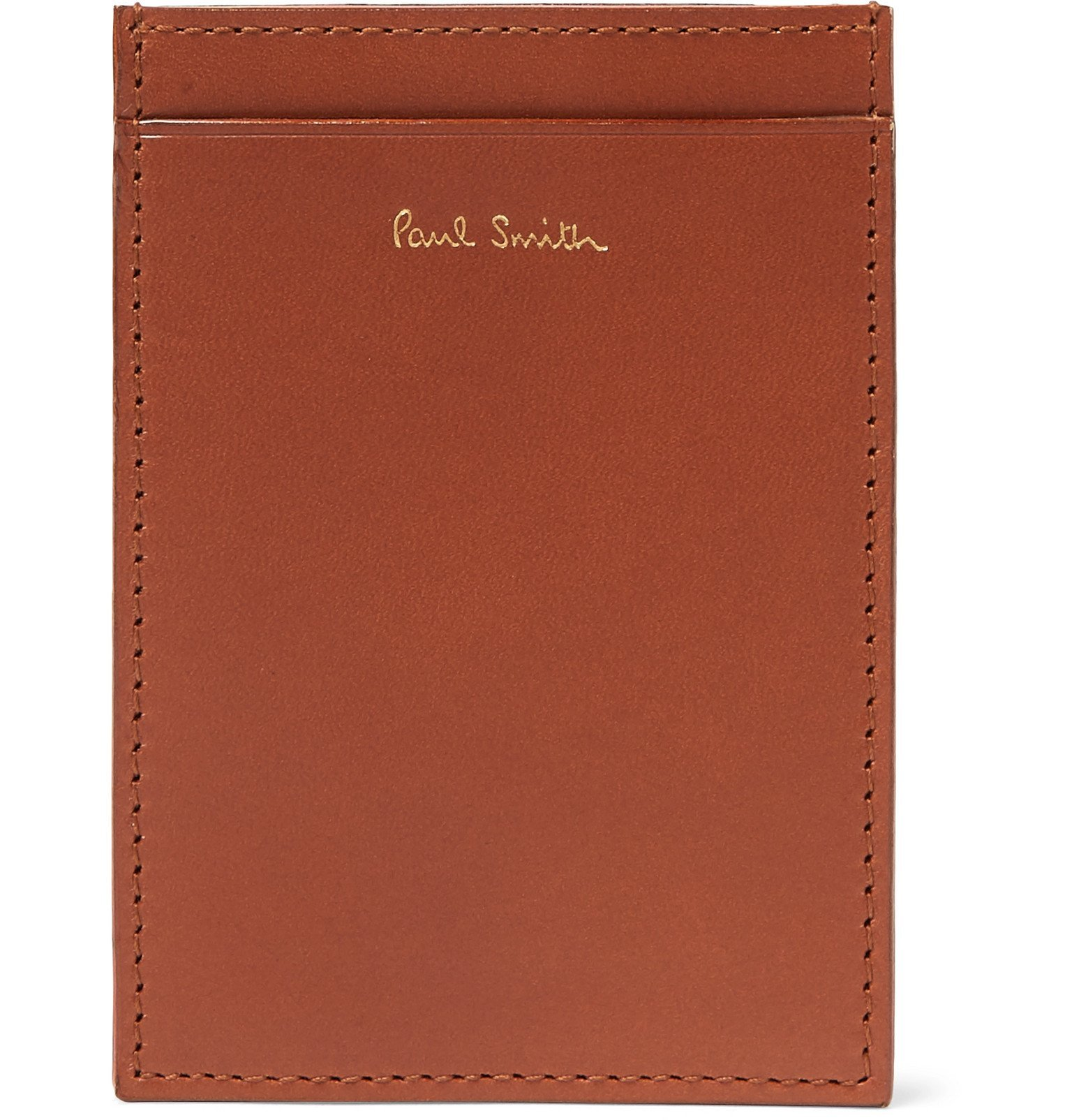 Photo: Paul Smith - Leather Cardholder - Brown