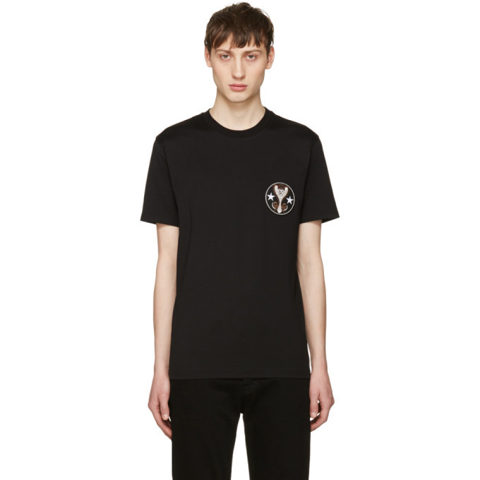 Photo: Givenchy Black Cobra T-Shirt