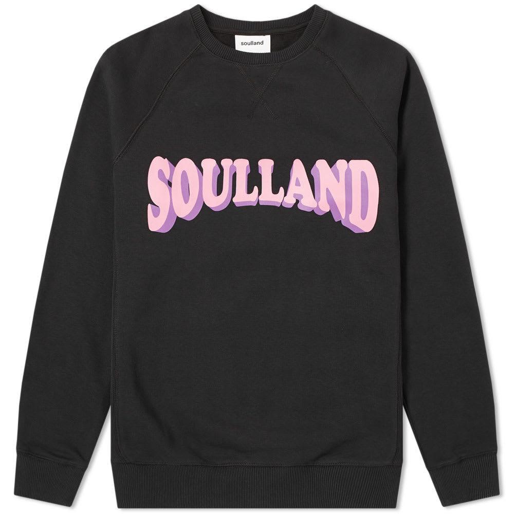 Photo: Soulland Hockney Crew Sweat Black