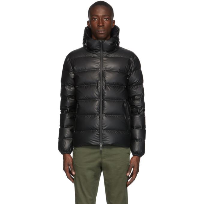 Photo: Herno Black Down Waterproof Jacket