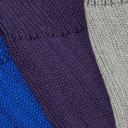 Schiesser - Kuno Three-Pack Ribbed Cotton Socks - Multi