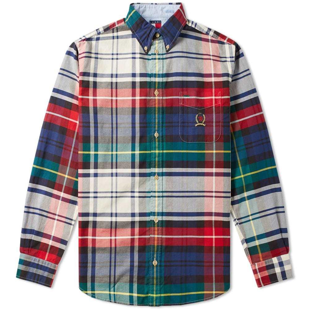 Photo: Tommy Jeans 6.0 Plaid Crest Shirt M10