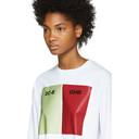 Raf Simons White 2C-B GHB Long Sleeve T-Shirt