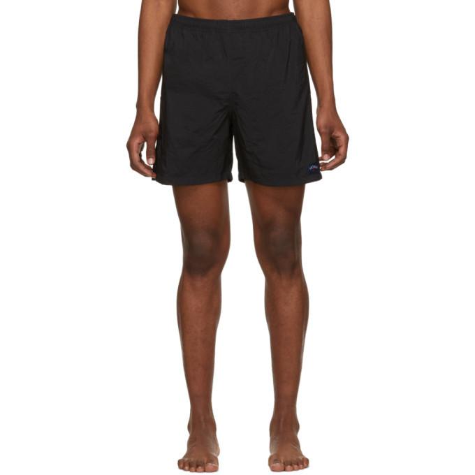 Photo: Noah NYC Black Nylon Swim Shorts