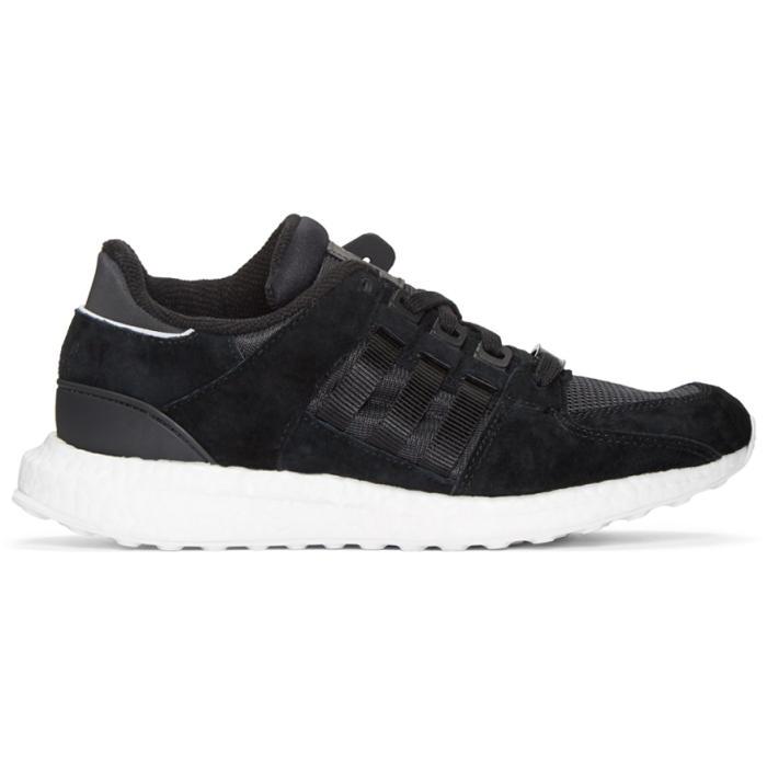 adidas Originals Black Equipment Support 93-16 Sneakers