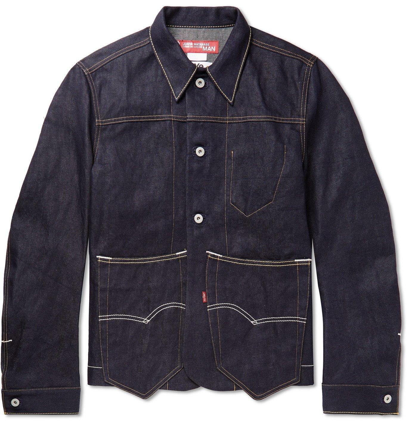 Photo: Junya Watanabe - Levi's Selvedge Denim Jacket - Blue