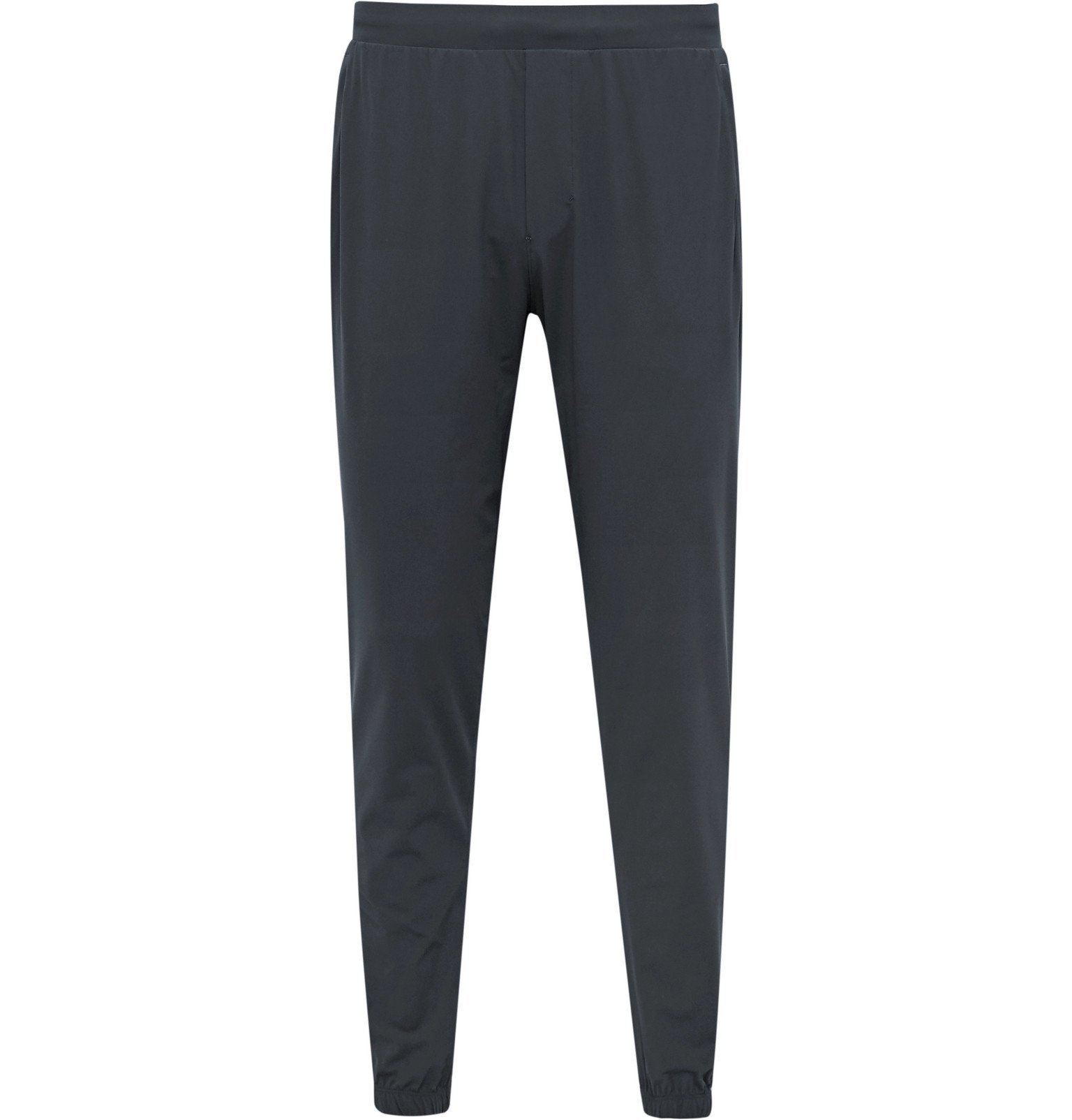 Photo: Lululemon - Surge Tapered Stretch-Jersey Sweatpants - Gray