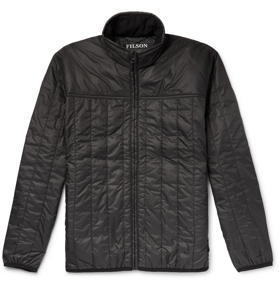 Photo: Filson - Quilted Ripstop PrimaLoft Jacket - Black