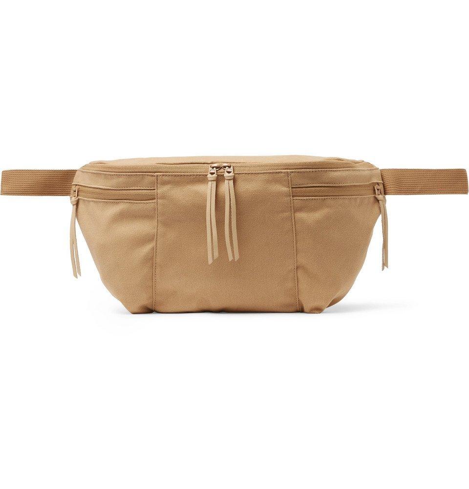 Photo: nonnative - Hunter Cotton-Canvas Belt Bag - Beige