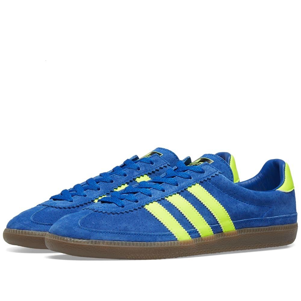 Photo: Adidas SPZL Whalley Action Blue, Sesame & Yellow