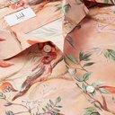 Dunhill - Aquarium Camp-Collar Mulberry Silk Shirt - Pink