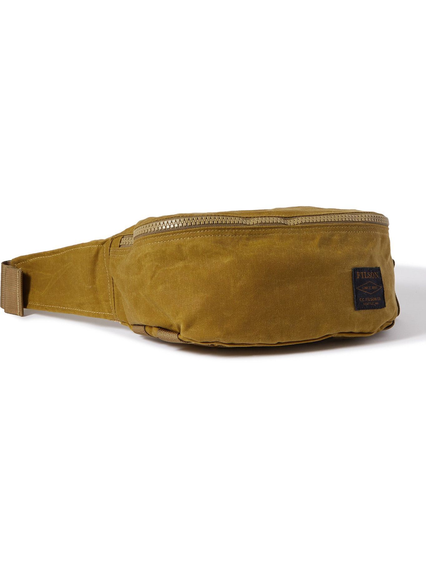 Photo: FILSON - Logo Appliquéd Tin Cloth Belt Bag
