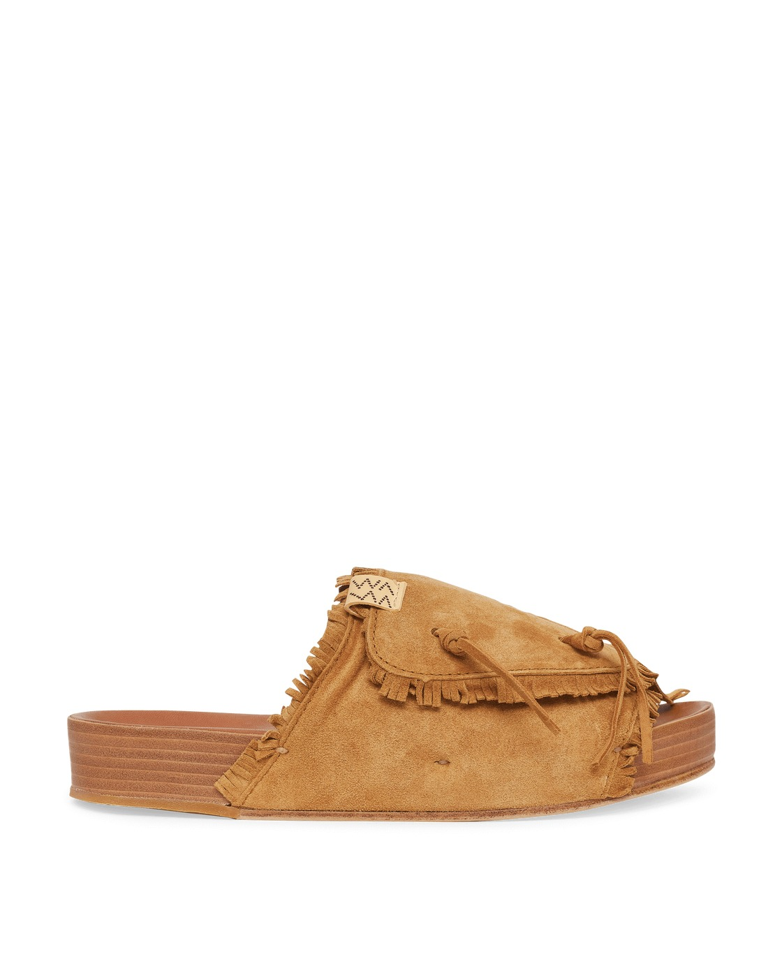 Photo: Visvim Christo Shaman Folk Sandals Light Brown