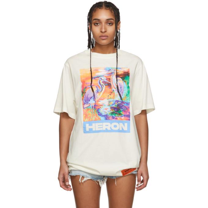 Photo: Heron Preston Off-White Heron Colors T-Shirt