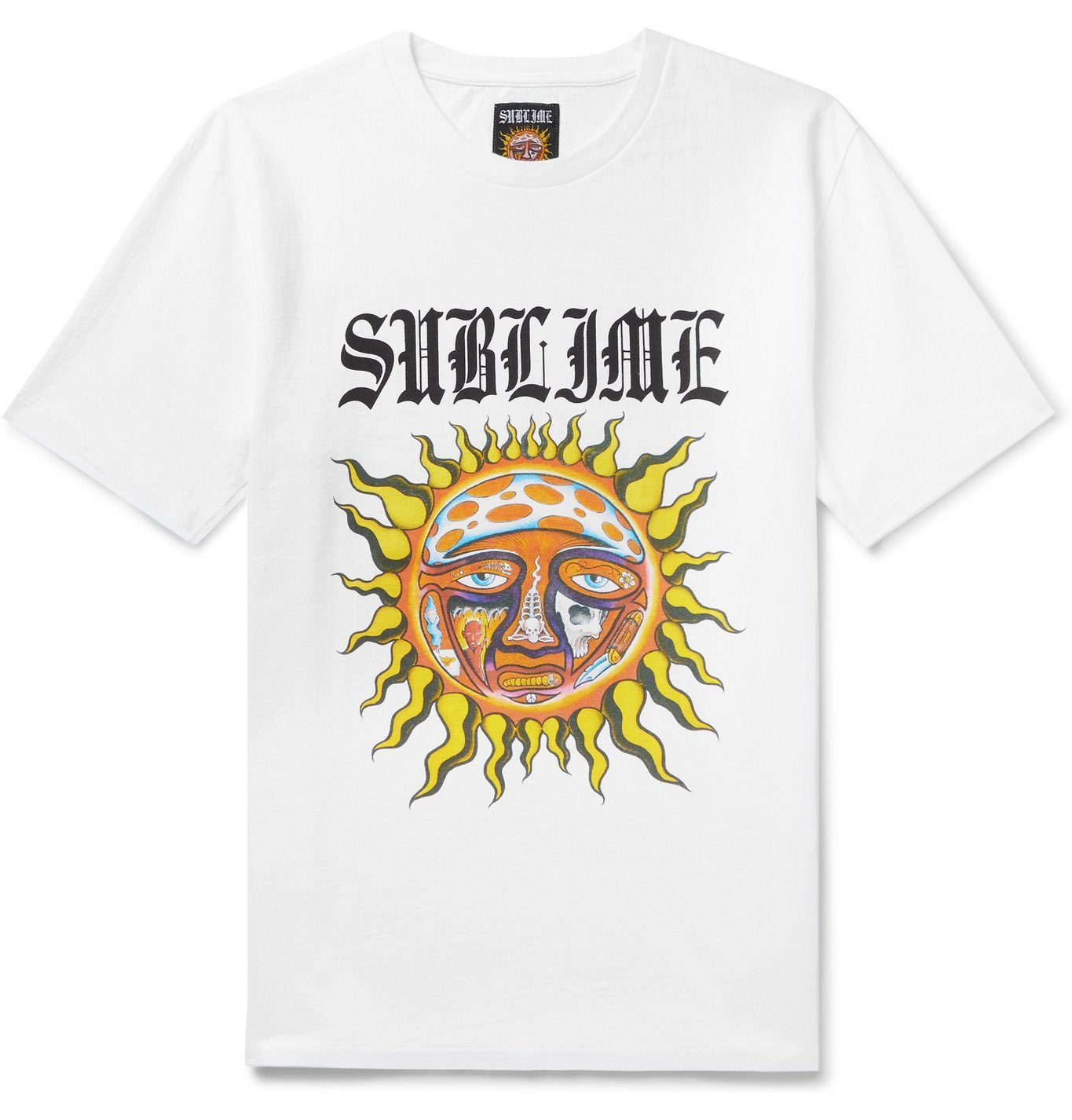 Photo: Wacko Maria - Sublime Printed Cotton-Jersey T-Shirt - White