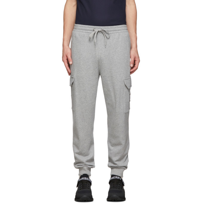 Photo: Burberry Grey Anton Cargo Lounge Pants