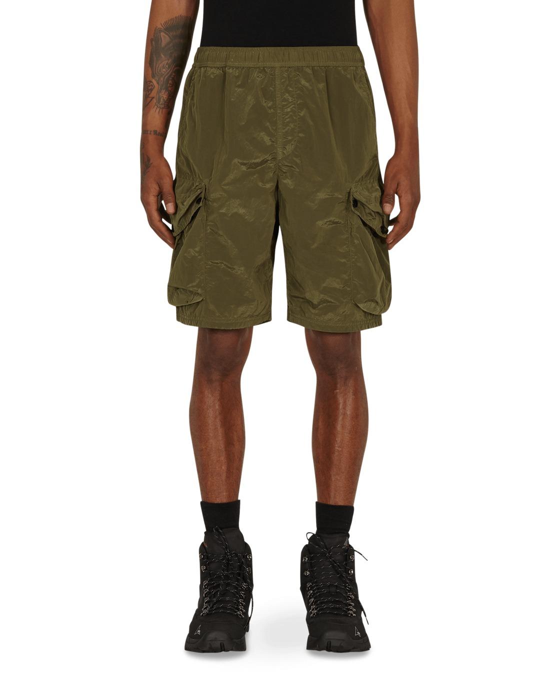 Photo: Stone Island Nylon Metal Cargo Shorts Olive