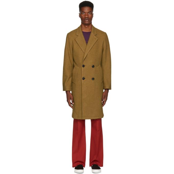 Photo: Saturdays NYC Khaki Saul Top Coat
