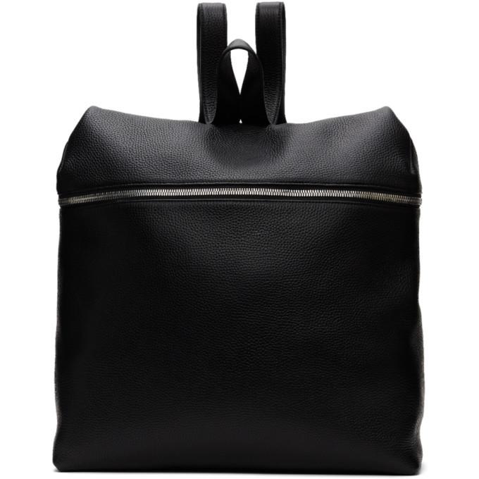 Photo: Kara Black Leather XL Backpack