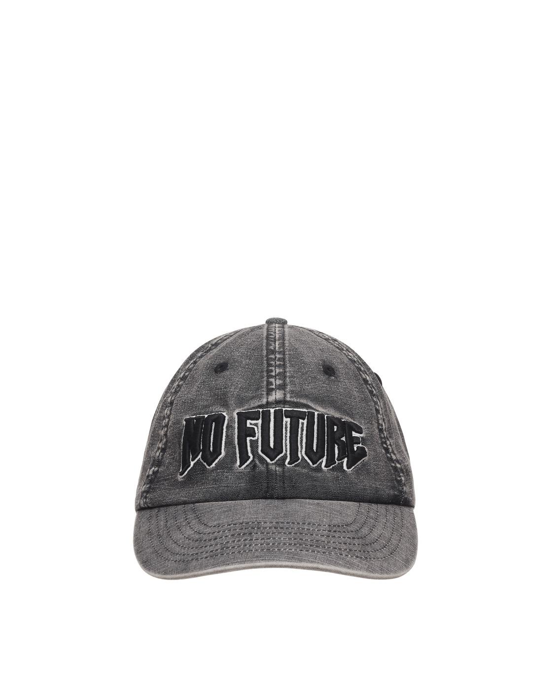 Aries No Future Cap Grey