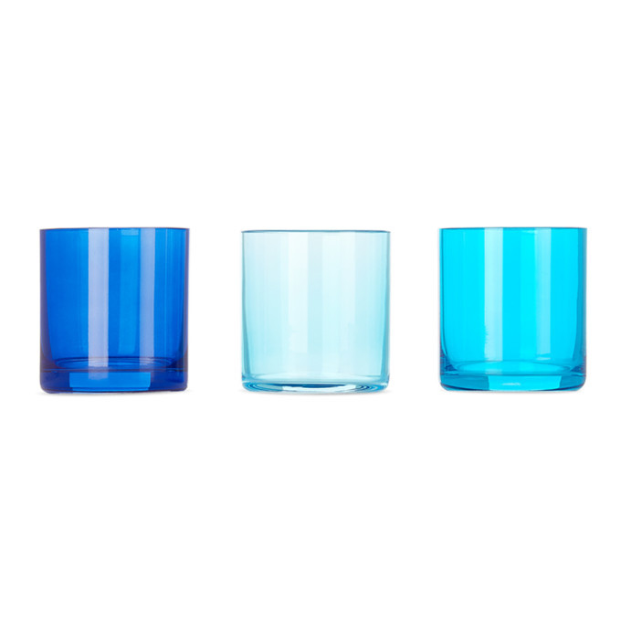 Photo: Lateral Objects Multicolor Marine Glow Votive Set
